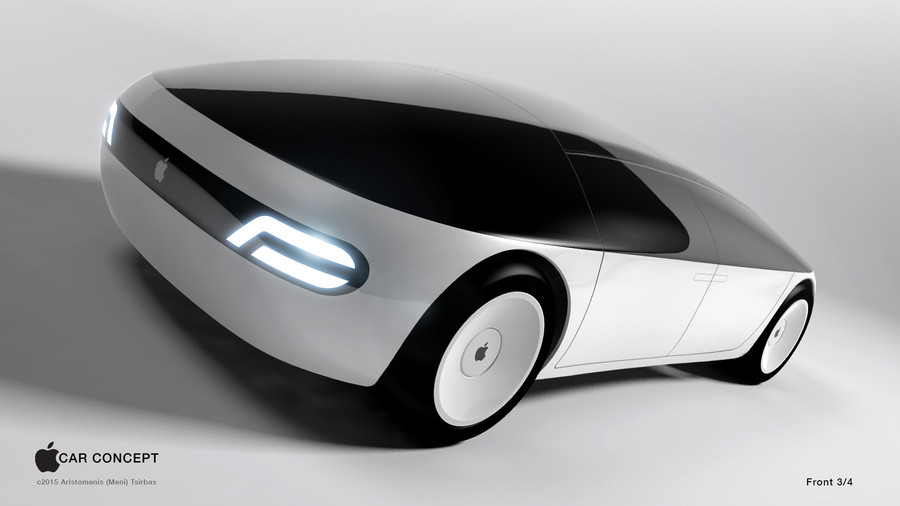 Apple Car Concept Front