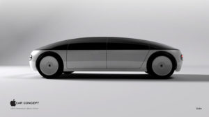 Apple Car Concept Side
