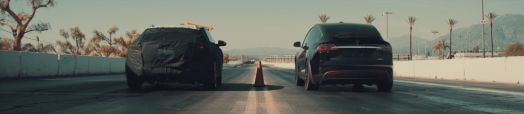 Faraday Future FF Prototype vs. Tesla Model X P100D Ludicrous